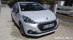 peugeot  new 208 allure 5ptes 1,6l blue hdi 100 vehicules voitures c�te-d'or