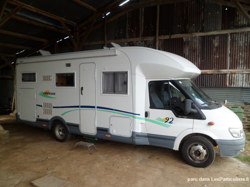 camping-car chausson odyss�e 92 vehicules caravanes camping car c�tes-d'armor