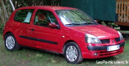 renault clio ii (2) 1.4 16s 3p bo�te automatique vehicules voitures finist�re