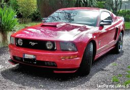ford mustang vehicules voitures seine-maritime
