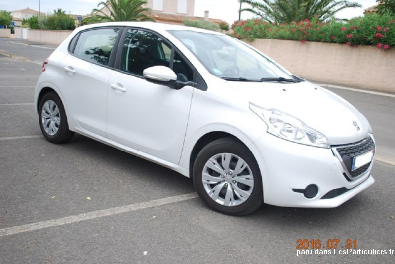peugeot 208 hdi  diesel 1. 4  business 2013 vehicules voitures h�rault