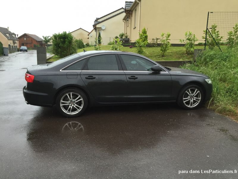 audi a6 v6 3.0 tdi dpf 204 ambition luxe multitron vehicules voitures moselle
