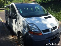 mini bus renault trafic 9 places vehicules voitures seine-saint-denis
