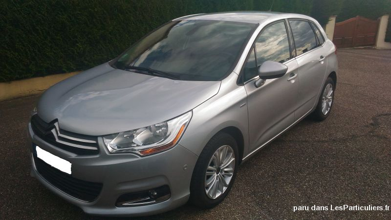 citroen c4 phase 2 hdi 150 exclusive, gris clair vehicules voitures moselle