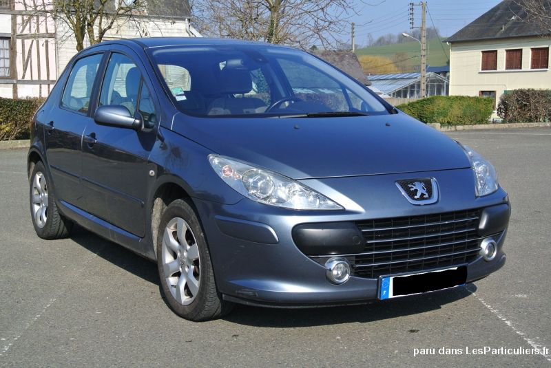 peugeot 307 1.6 hdi 110 exécutive pack 5p  vehicules voitures seine-maritime