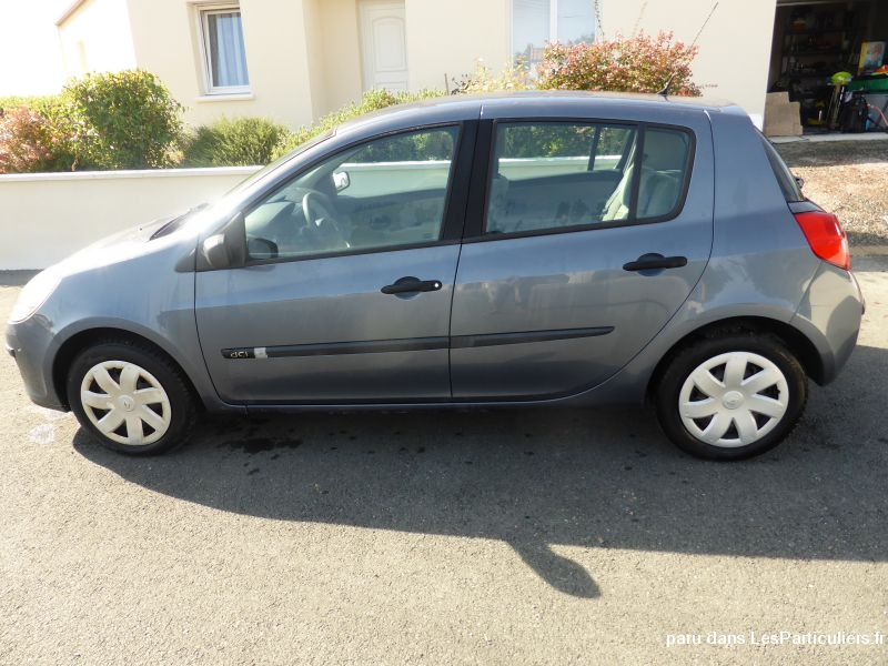 renault clio iii 1,5 dci 70 confort expression vehicules voitures vend�e