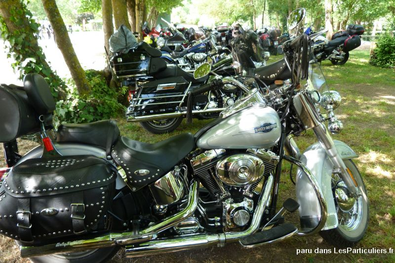 harley heritage vehicules motos allier