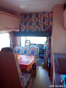 Camping car chausson welcom 4
