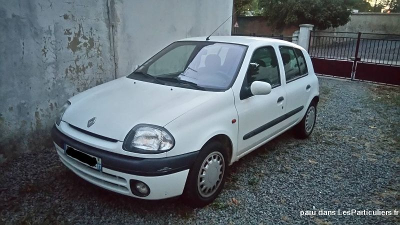 clio ii 1,9 d swiss advantage vehicules voitures charente-maritime