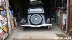 traction 11 b 1950 vehicules voitures c�te-d'or