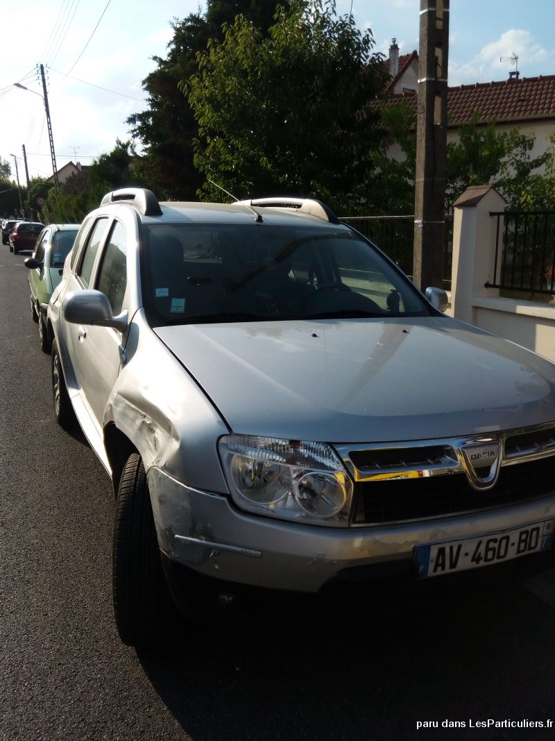 duster dci laureate vehicules voitures seine-et-marne