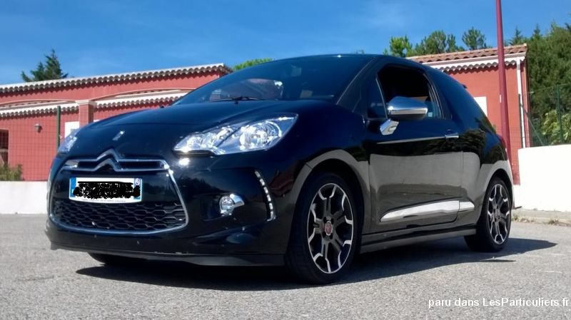 ds3 airdream so chic 90 vehicules voitures drôme