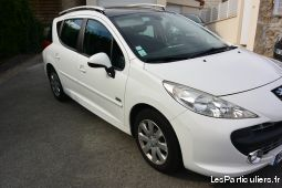 peugeot 207 sw 1. 6 hdi 90 navteq  vehicules voitures essonnes