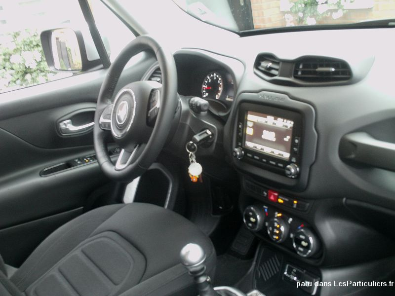 jeep renegade limited 16v 1'6 diesel vehicules voitures nord