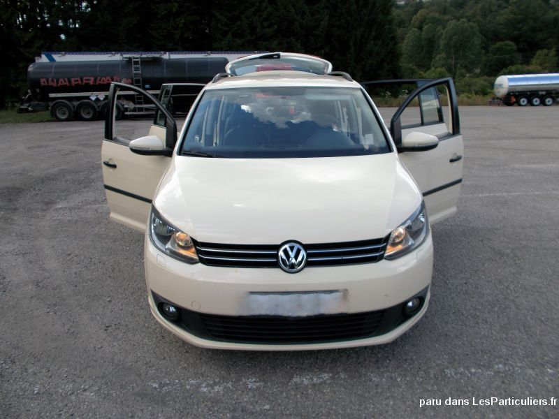 volkswagen touran 7 places cuir vehicules voitures ain