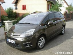 citro�n grand c4 picasso 7 places exclusive vehicules voitures bas-rhin