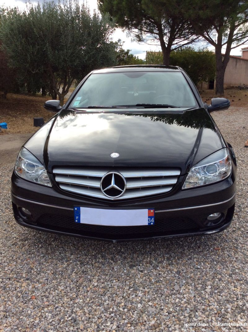 mercedes diesel coup� 200 cdi vehicules voitures h�rault