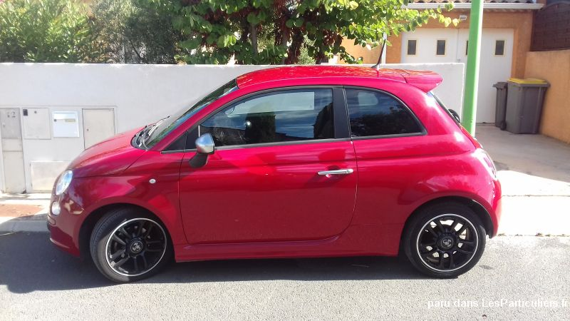 fiat 500 - 2012 - ii 0.9 8v 85 twinair s/s street vehicules voitures hérault