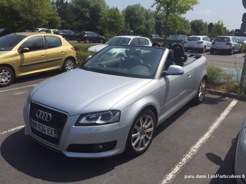 audi a3 cabriolet 2.0 tdi 140 chvx s-line vehicules voitures nord