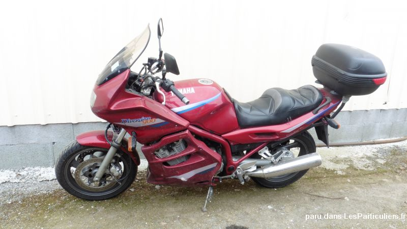 yamaha 900 diversion vehicules motos manche