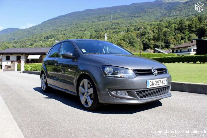 vw polo v (5) sportline tdi 105 vehicules voitures haute-savoie