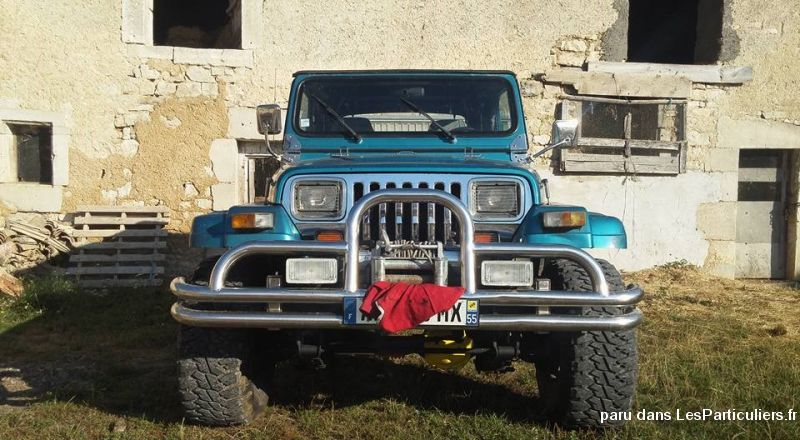 4x4 jeep wrangler vehicules voitures meuse