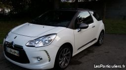 citro�n ds3 e-hdi 90 airdream so chic. vehicules voitures is�re
