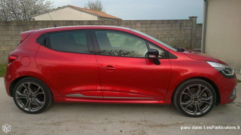 renault clio 4 rs toujours sous garantie or vehicules voitures charente-maritime