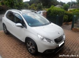 peugeot 2008 blue hdi 100ch  f�line cuivre, s&s vehicules voitures doubs