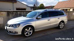volkswagen passat sw 2.0l 140 ch bluemotion design vehicules voitures c�te-d'or