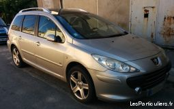 307 sw 1.6hdi 16v fap griffe - toit panoramique vehicules voitures gironde
