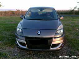 renault scenic dci bo�te automatique vehicules voitures charente-maritime