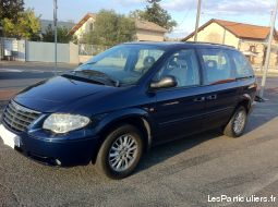 chrysler voyages lx 2.8 crd vehicules voitures gironde