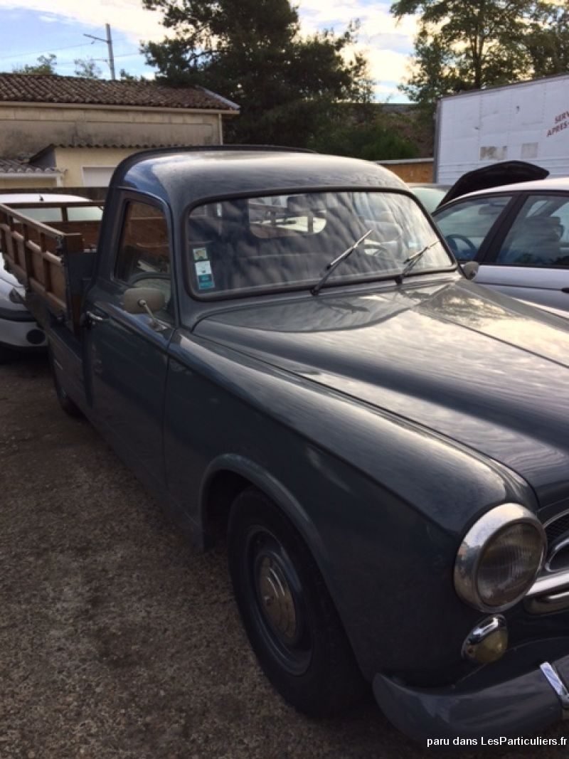 peugeot 403 plateau de collection 1964pe vehicules voitures gironde