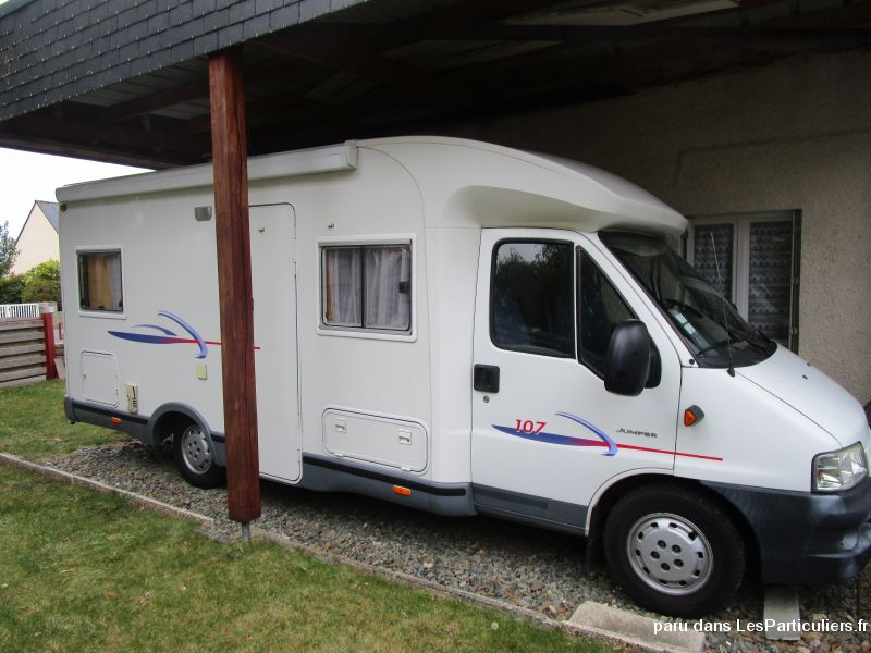 camping car challenger 107 vehicules caravanes camping car côtes-d'armor