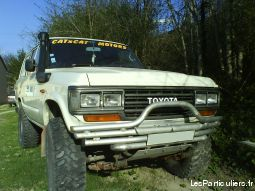 toyota hj61 turbo d vehicules voitures ard�che