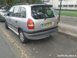 opel zafira 3200� (prix n�gociable) vehicules voitures gironde