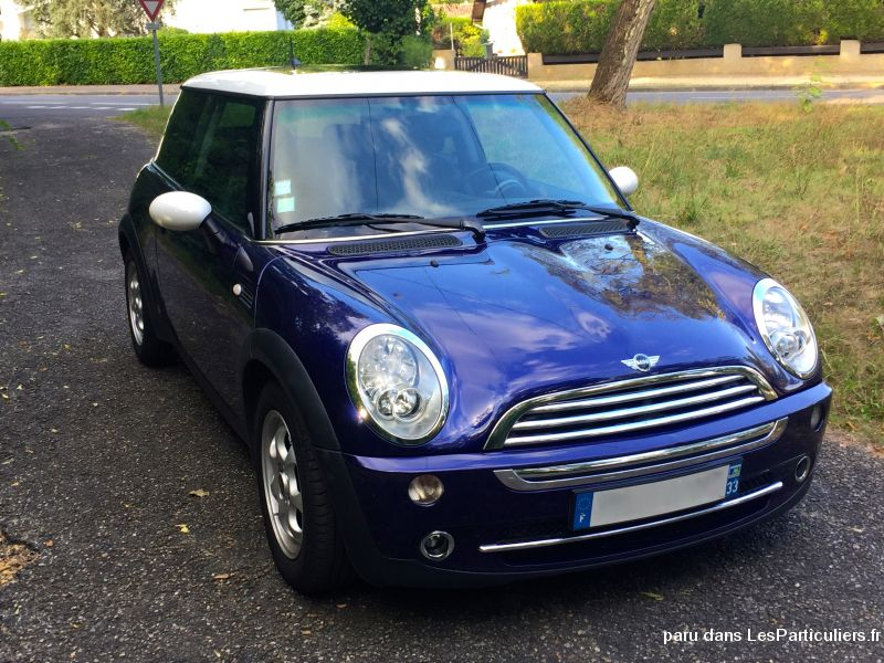 mini cooper 115 ch vehicules voitures gironde