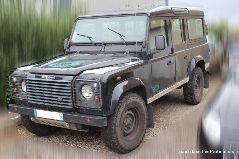 land rover defender 110 td5 vehicules voitures moselle