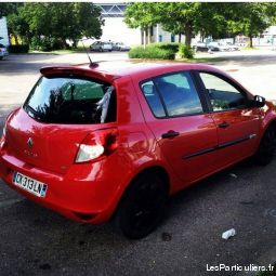 clio 3 1. 5l dci  vehicules voitures is�re