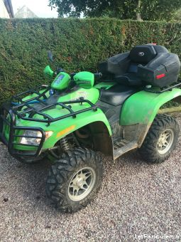 quad  arctic cat 650 cm3 vehicules motos calvados