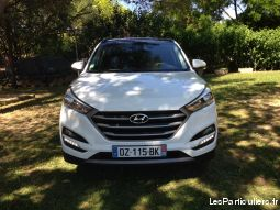 hyundai tucson 2.0 crdi 136 intuitive 2 wd blanche vehicules voitures gard