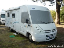 Camping car integral PILOTE  G730 lit central