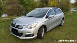 citroën c4 collection hdi  + gps + radar de recul vehicules voitures loire-atlantique