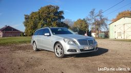 mercedes e220cdi w212 break avantgarde executive  vehicules voitures moselle