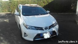 toyota auris hybrid style 2014 1ière main vehicules voitures haut-rhin