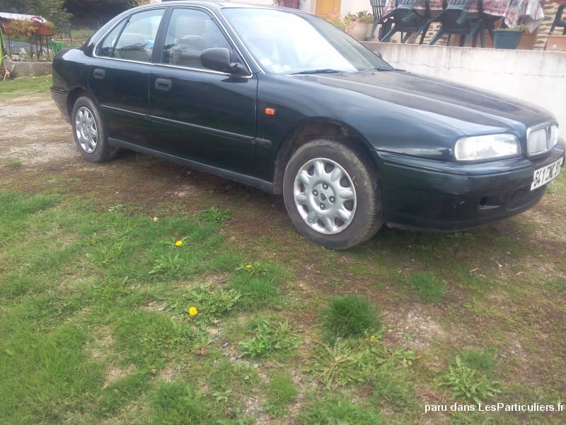 rover 600 vehicules voitures creuse