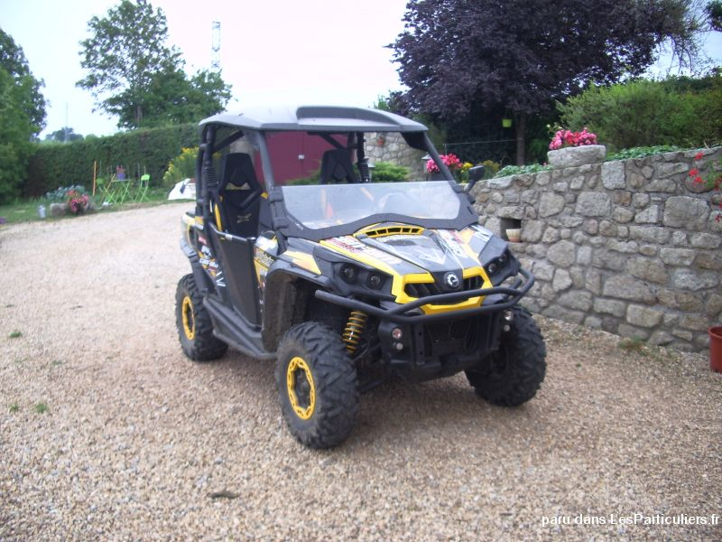 can am commander x (tva recuperable)  vehicules motos creuse