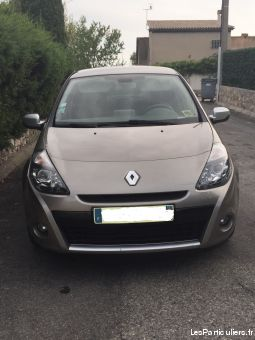 renault clio 3 phase 2 vehicules voitures alpes-maritimes