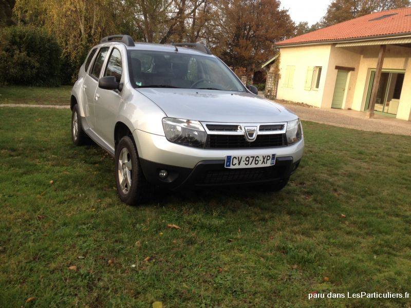 dacia duster cdi 110cv  4 / 2 vehicules voitures ain